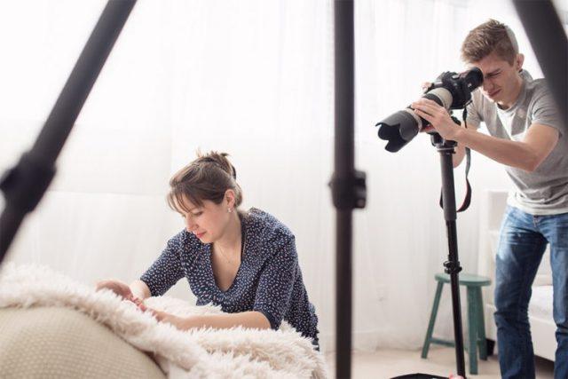 Devenir un photographe professionnel de naissance